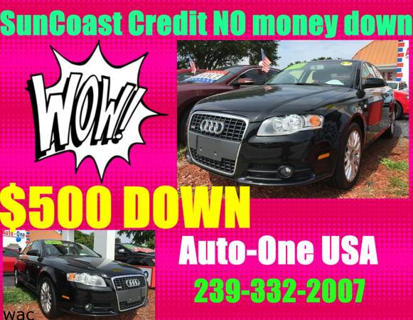 2009 AUDI A4 QUATTRO S LINE*$500 DOWN!*YOU WORK,YOU DRIVE!