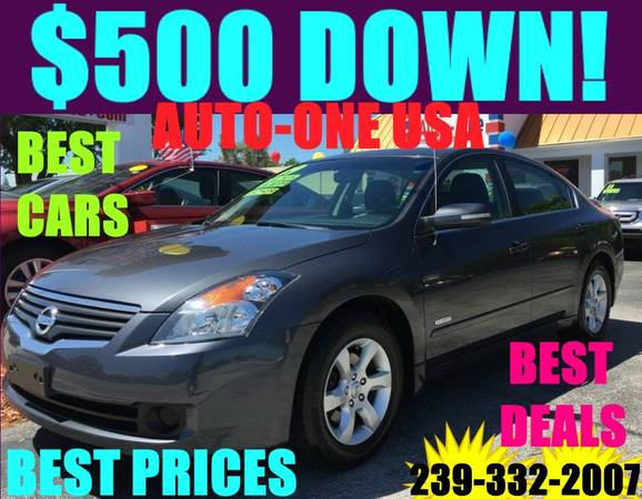 2010 NISSAN ALTIMA*$500 D0WN!*YOU DRIVE IT HOME TODAY!