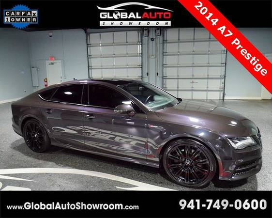 2014 *Audi* *A7* 3.0T Prestige *Over 100 in Stock-Indoor Showroom-SR...