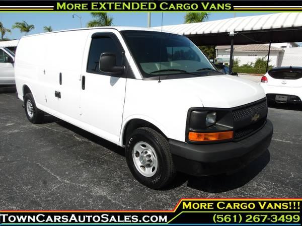 2011 Chevy Express Cargo Van cargo Van *EXTENDED* Cargo Van Cargo Vans