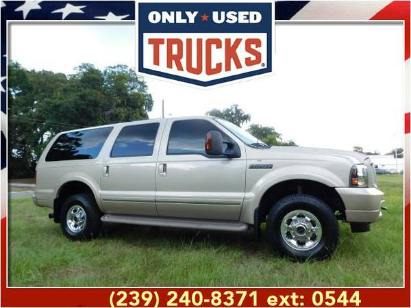 2004 *Ford Excursion* Limited 4x4 (8cyl, 6.0L, 325.0hp) WE SPECIALIZE