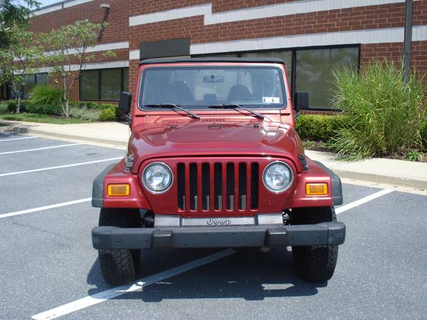1999 JEEP WRANGLER SE // CLEAN TITLE // MD INSP. // CARFAX //