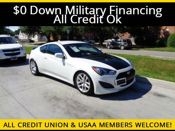 ★2013 Hyundai Genesis Coupe 2.0T★$0 DOWN MILITARY...