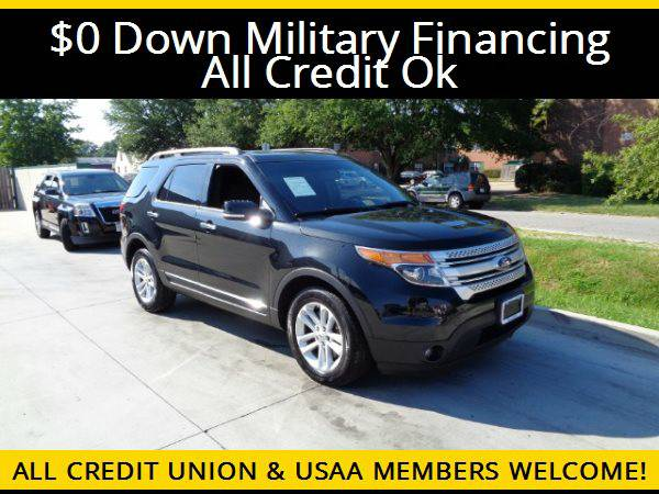 ★2013 Ford Explorer XLT w/3RD ROW SEATS★$0 DOWN MILITARY...