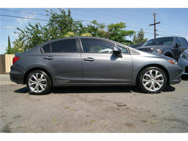 2012 *Honda* *Civic* Si Sedan 4D ( Easy Financing Available )