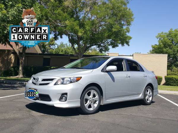 2013 TOYOTA COROLLA S SPORT SEDAN 4 CYL SUPER GAS SAVER RELIABLE !