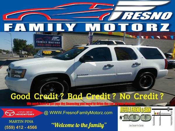 2009 CHEVY TAHOE *9 PASSENGER 4X4* was$16,999 CALL TODAY!
