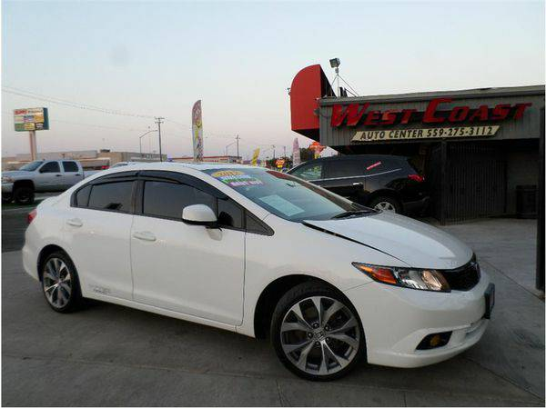 2012 *Honda* *Civic* Si Sedan 4D -BAD/NO CREDIT APPROVED
