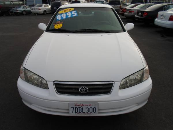 >>2000 Toyota Camry LE,4Cyl,Automatic,Clean Title<<