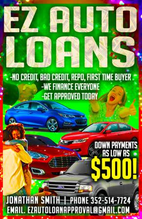 @@NEED A CAR OR TRUCK? BAD CREDIT HOLDING YOU BACK? CALL ME TODAY!!!