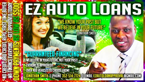 USED CAR SALE!! DWN PMTS AS LOW AS $500! BAD CREDIT OK APPROVED!!!!!