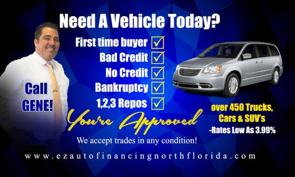 Bad Credit Loans Easy as 123 $500 down delivers