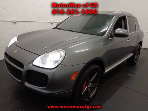 2006 PORSCHE CAYENNE TURBO*AWD*LEATHER*MOONROOF*LOADED*JUST IN,