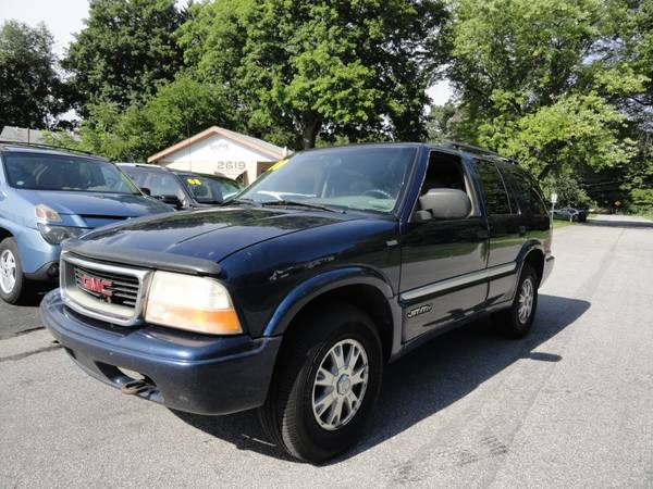 2000 GMC Jimmy 4x4 ** FRESH TRADE ** LOADED ** LEATHER