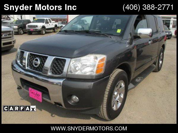 2004 Nissan Armada 1 Owner Leather, Nav, Sunroof, DVD ONLY 139k CLEAN!