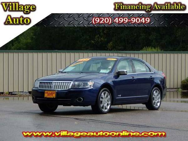 2007 *Lincoln MKZ* AWD - Blue-TRADE INS WELCOME!