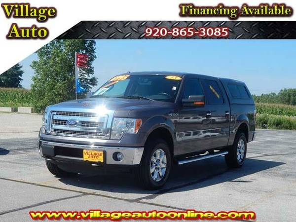 2013 *Ford F-150* XLT Super Crew *4x4* One-Owner - Ford Gray
