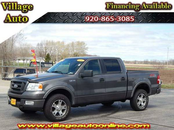 2005 *Ford F-150* CREW CAB SHORTBOX FX-4 4X4 - Gray-TRADE INS WELCOME!