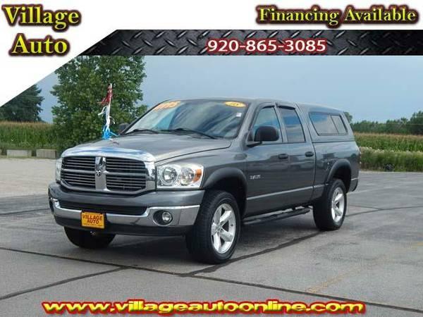 2008 *Dodge RAM 1500* BIG HORN Quad Cab Shortbox *4x4* - Dodge Gray