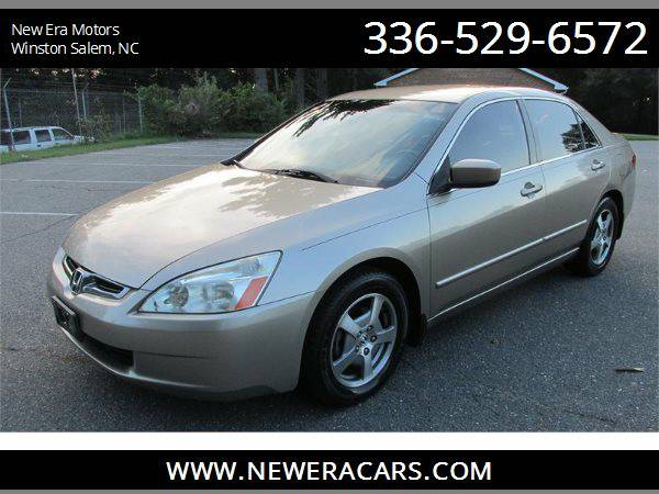 2005 HONDA ACCORD Leather! Low Miles!, Gold