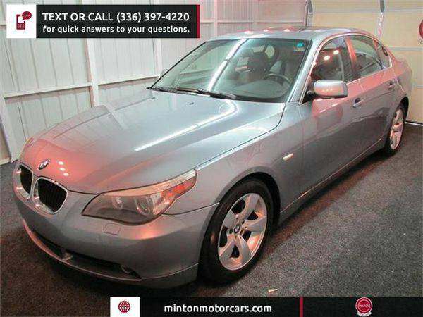 2006 *BMW* *5-Series* 525i Easiest 1st time buyer program