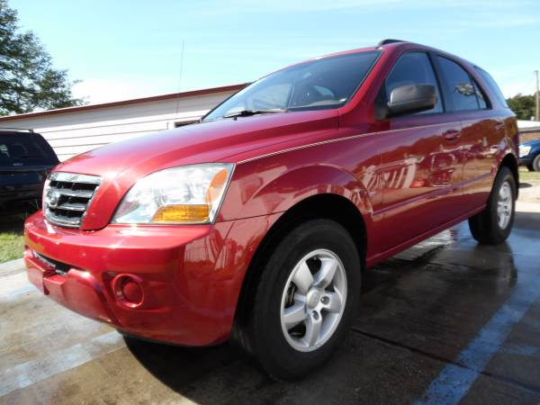 2008 KIA SORENTO LX RED 110K MLS ONLY NICE CAR !!!
