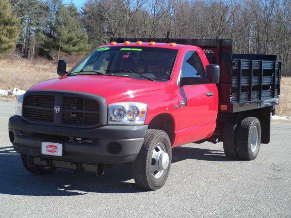 2008 *DODGE* *3500* *RACK* *BODY* *RAM* *3500* ST 9' STAKE RACK BODY