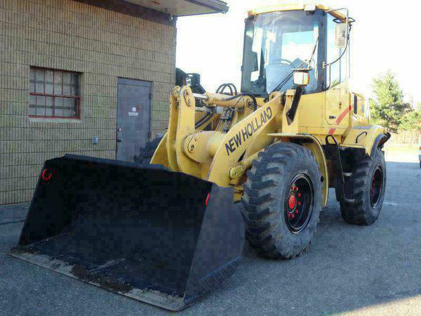 2005 *NEW* *HOLLAND* *LW110B* Wheel Loader Rubber Tire - CALL/TEXT...