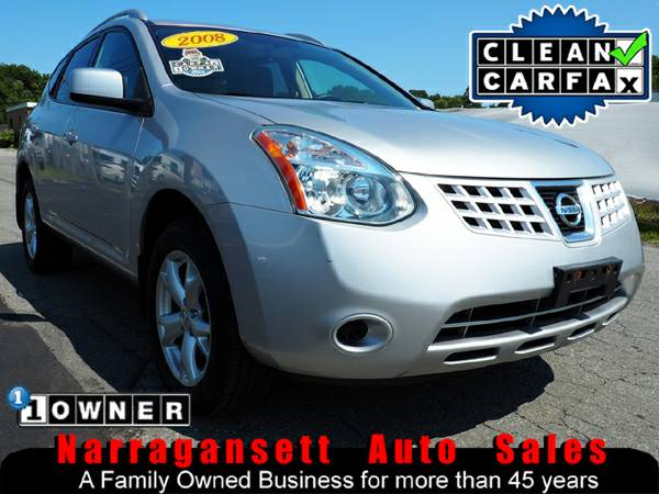 2008 Nissan Rogue SL AWD Auto Air Full Power Moonroof Like New