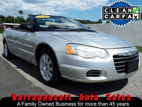 2006 Chrysler Sebring GTC Convertible V-6 Auto Air Full Power CD