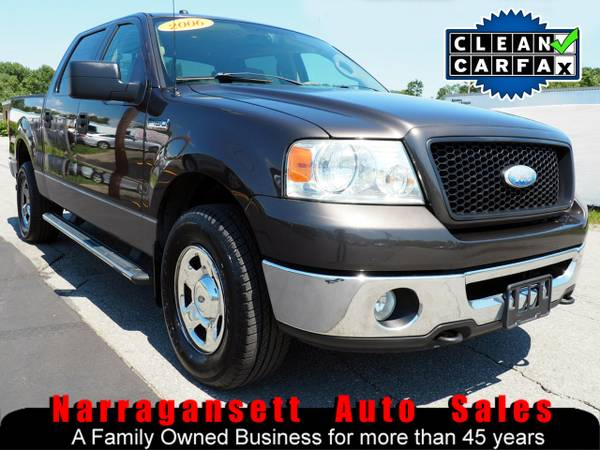 2006 Ford F-150 XLT 4X4 Super Crew V8 Auto Air Full Power