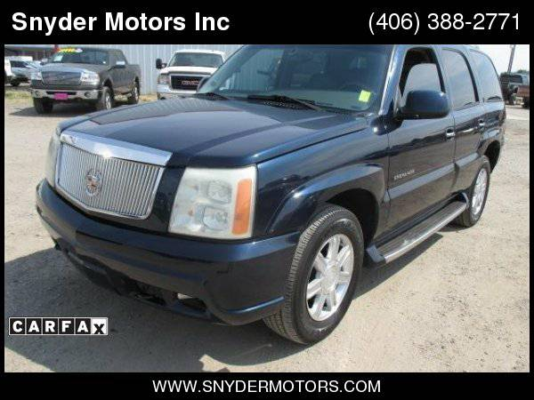 2004 Cadillac Escalade AWD Super Clean LOADED! Nav, Moonroof, Leather