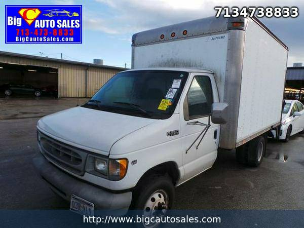 2002 Ford Econoline E350 Boxtruck Tommy Lift - Financing!