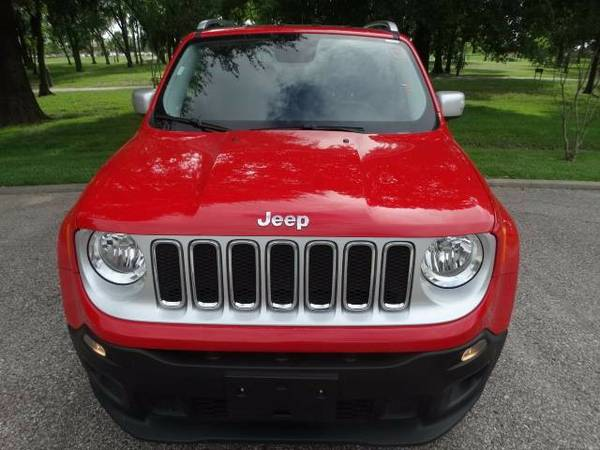 LOOK!!!!>>> $499 DOWN !2016 Jeep Renegade Limited-IN HOUSE...