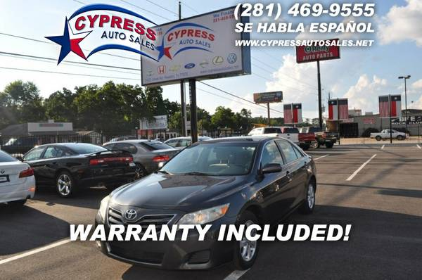 2010 TOYOTA CAMRY LE 4DR SEDAN 2WD
