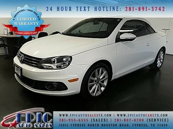 2012 Volkswagen Eos Komfort Edition This has a FREE Warranty @@@@@@