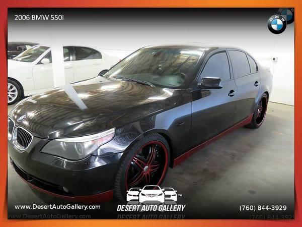2006 BMW 550i Sedan for sale. TEST-DRIVE TODAY