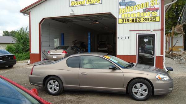 06 Chevrolet Monte Carlo. .excellent..119000 miles. $4999
