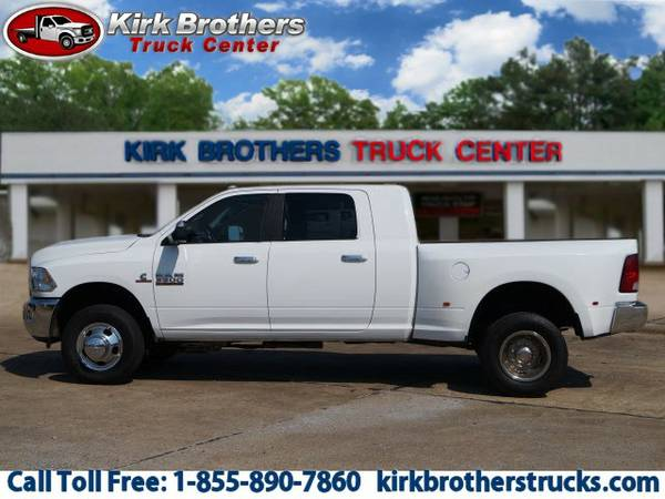 2013 Ram 3500 Bright White Clear Coat Buy Now!