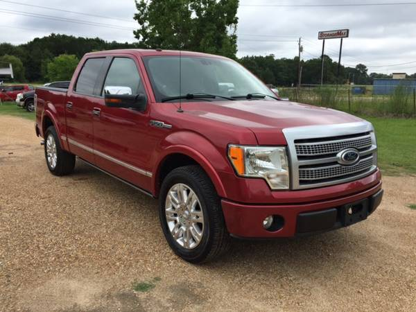 2010 Ford F150 Supercrew Platinum!