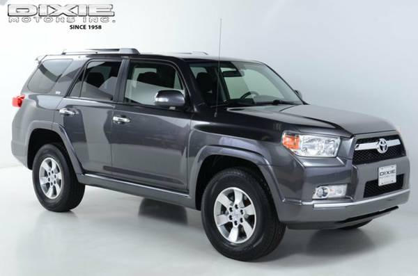 ONE OWNER LOW MILES 2013 TOYOTA 4RUNNER SR5 4WD 3 IN STOCK