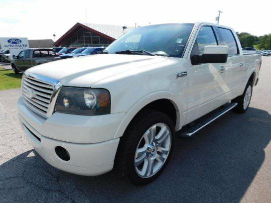 2008 FORD F150 LIMITED 4X4 CREW CAB LEATHER HTD SEATS PEARL WHITE