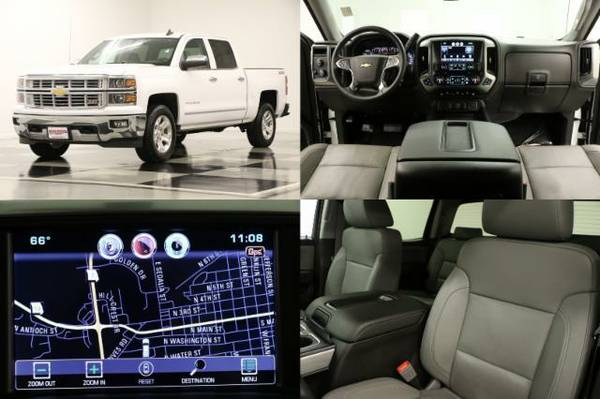 *SILVERADO 1500 4WD-6 IN BDS LIFT*2015 Chevy*COOLED LEATHER-5.3L V8*