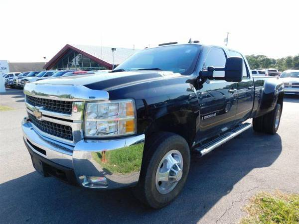 2008 Chevrolet Silverado 3500 DRW 4X4 Diesel Leather DVD Remote Start