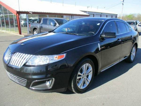 2009 Lincoln MKS Sedan All Black A/C Seats Leather Newer Tires