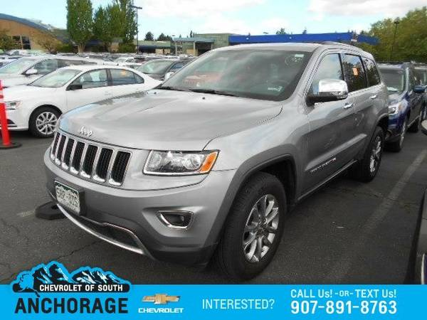 2015 Jeep Grand Cherokee LIMITED (You Save $1,116 Below KBB Retail)