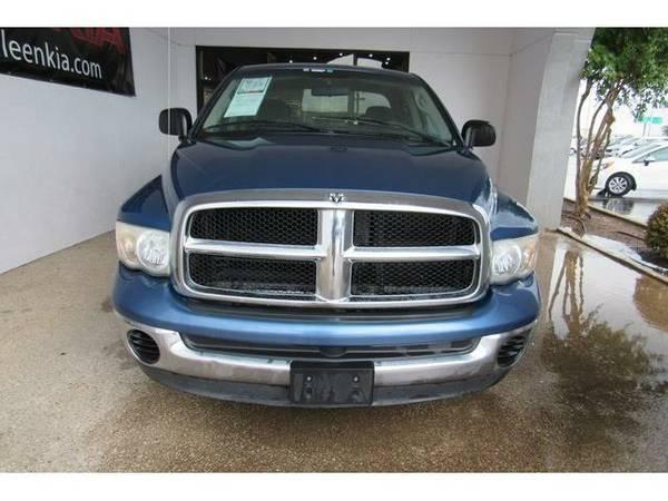 2005 *Dodge Ram 1500* SLT - (Patriot Blue Pearlcoat)