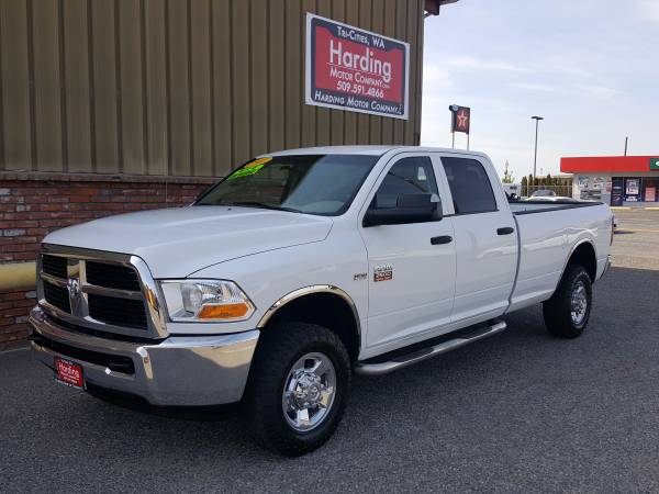 2011 DODGE RAM 2500 TRUE CREW CAB LONG BED 4X4 5.7 HEMI ONLY 65K MILES