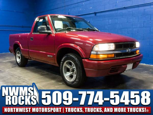 1998 *Chevrolet S10* RWD - 1998 Chevrolet S10 RWD Manual Budget Value