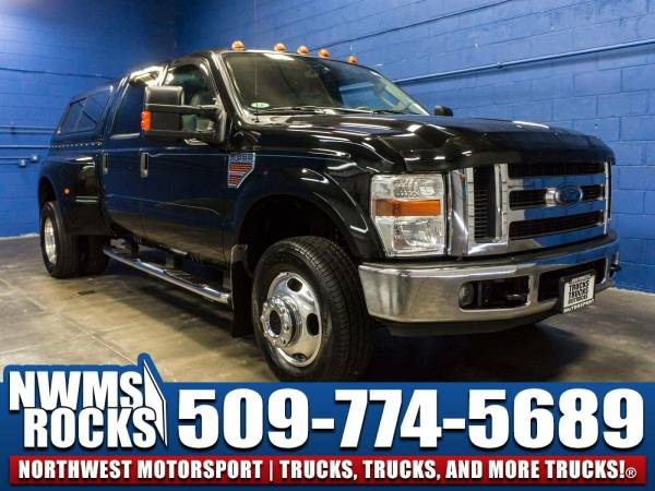 2008 *Ford F350* Lariat Dually 4x4 - 6.4L Powerstroke! 2008 Ford...